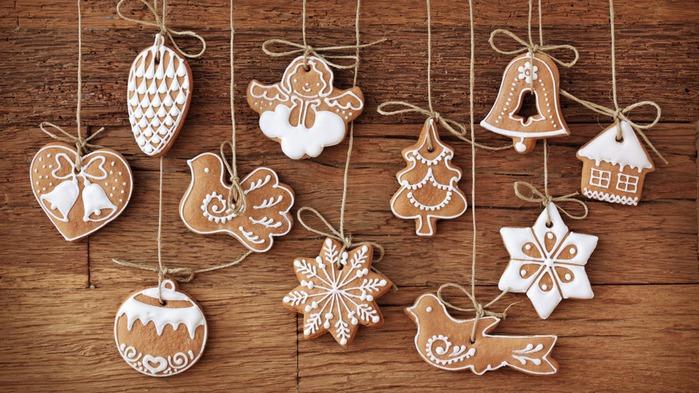 Новогодние печенье своими руками