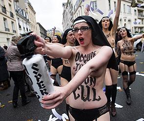 Феменистки избиты во Франции (295x249, 45Kb)