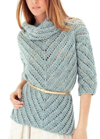 Ажурный женский джемпер-свитер,вязаный спицами/4683827_20121128_132323 (351x487, 158Kb)