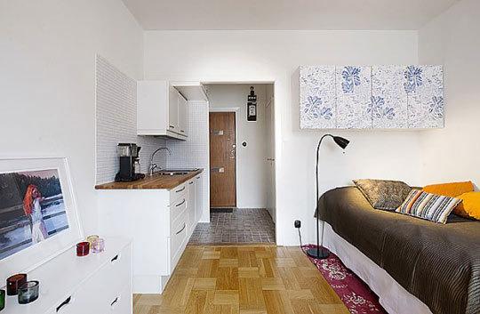 Интерьеры маленькой квартиры