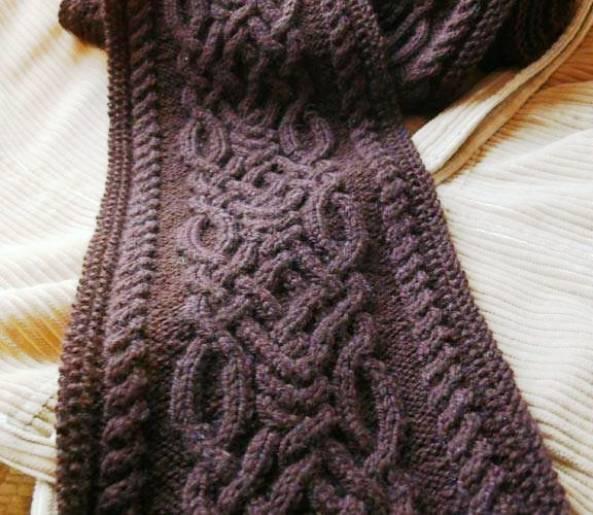 Мужской шарф английской резинкой схема фото 104