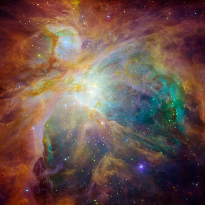 Взгляд в космос с телескопа Хаббл (Space Hubble) (700x700, 95Kb)