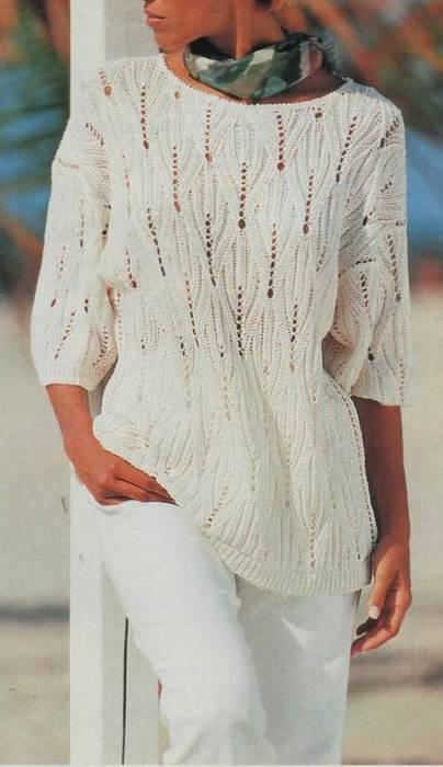 Белые Пуловеры