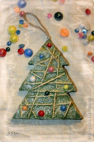 Новогодние елочки из картона своими руками