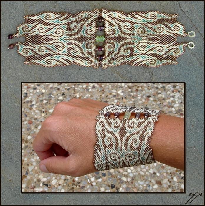 Как сделать крутые браслеты из бисера
