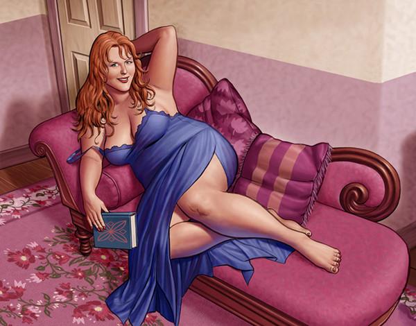 Толстая сексуальная девушки фото 771-253