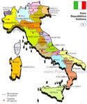 Превью карта италии с обозначениями провинций (584x700, 152Kb)