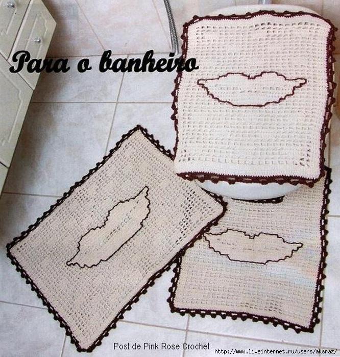 Tapete Boca Crochet p Banheiro (666x700, 351Kb)