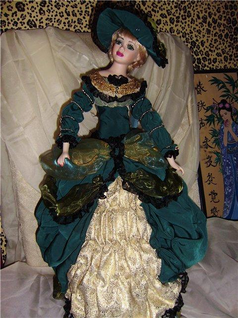 Выкройка платья для куклы