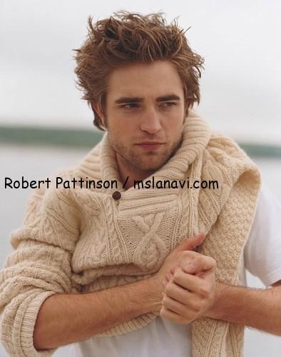 вязаный пуловер для мужчин