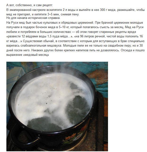 Медовуха приготовление в домашних условиях из перги