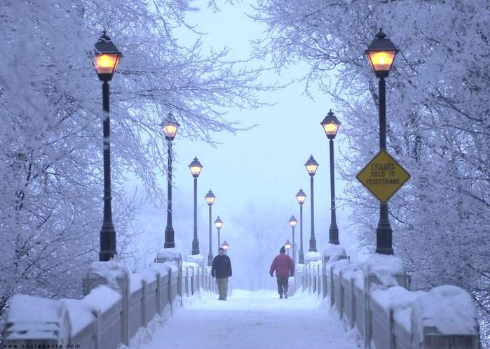 У природы нет плохой погоды да и зима