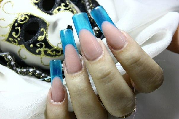 зимний дизайн ногтей 2013