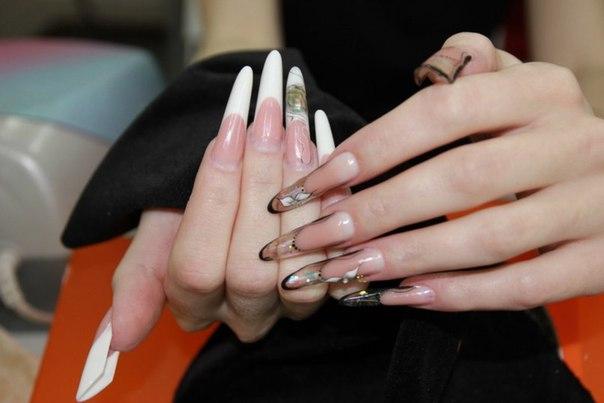 красивые новогодние ногти 2013