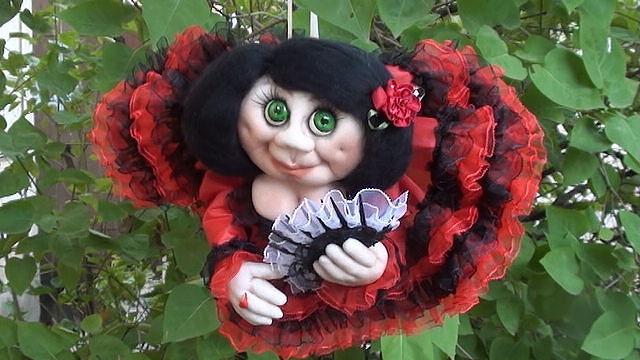 Куклы текстильно-скульптурные Красота спасет мир!