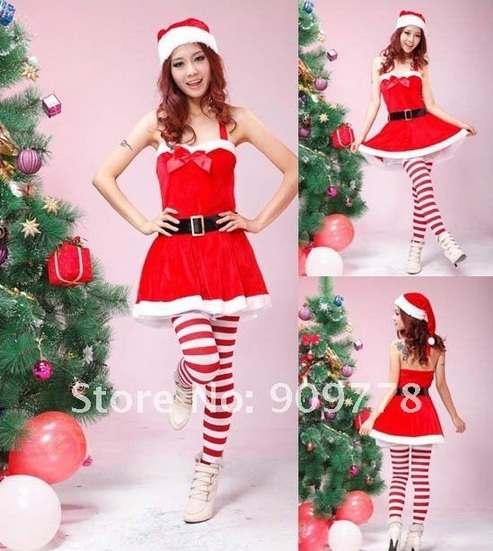 Костюмы Санта Клауса для девушек