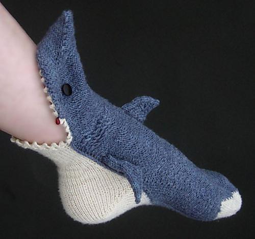 鲨鱼袜子 - maomao - 我随心动