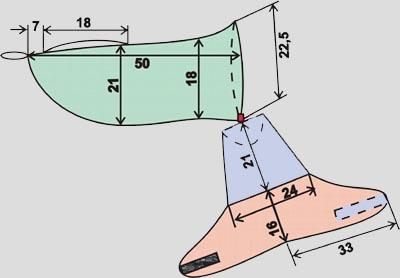 Где можно найти выкройку попонки для французского бульдога , желательно зимнюю.