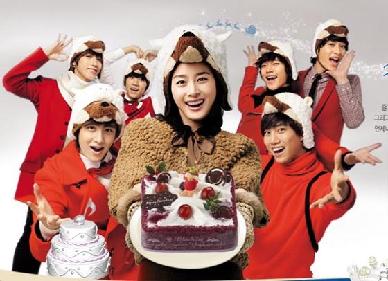 Корейские рождественские рекламы