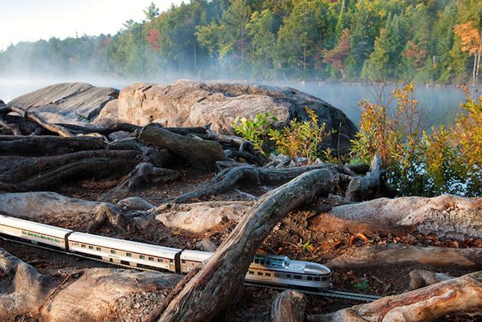 модель поезда канадец фото 4 (700x467, 216Kb)