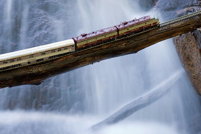 модель поезда канадец фото 6 (700x467, 121Kb)