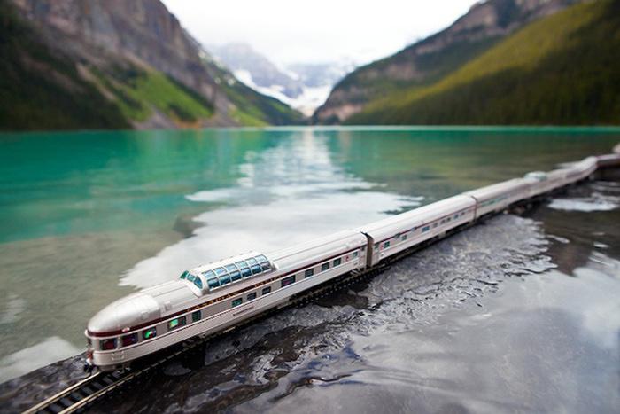 модель поезда канадец фото 10 (700x467, 119Kb)