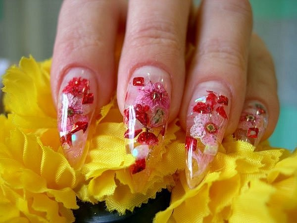 Фото дизайна с сухоцветами