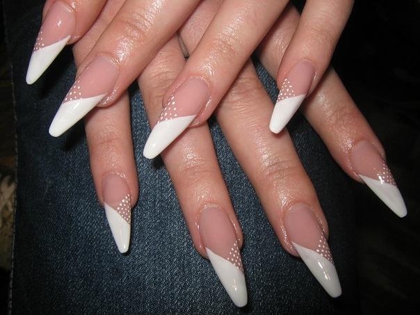 Нарощенные ногти 2013 фото.  Модные ногти для девушек.
