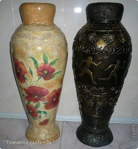 Напольные вазы мастер класс 36