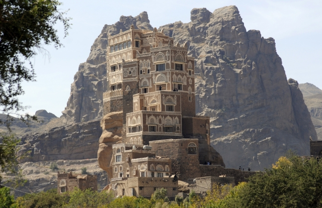 дворец имама йемен фото 1 (640x414, 246Kb)