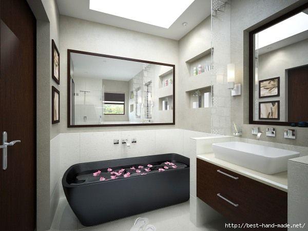 BathroomBlackBath (600x450, 102Kb)