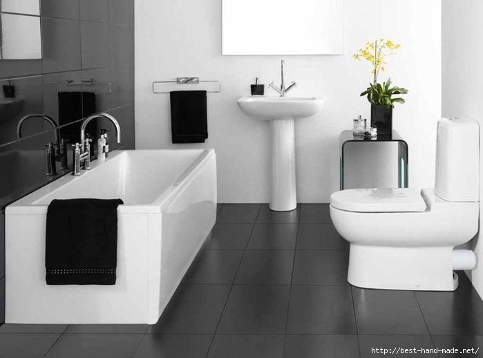Black-White-Bathroom-Simple-Design-Ideas (700x518, 106Kb)