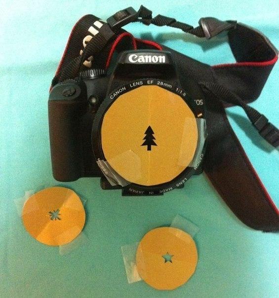 фильтр для фотоаппарата своими руками, креатив (565x604, 69Kb)