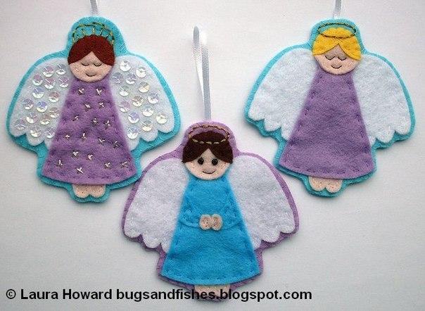 Ангелочки в сад своими руками