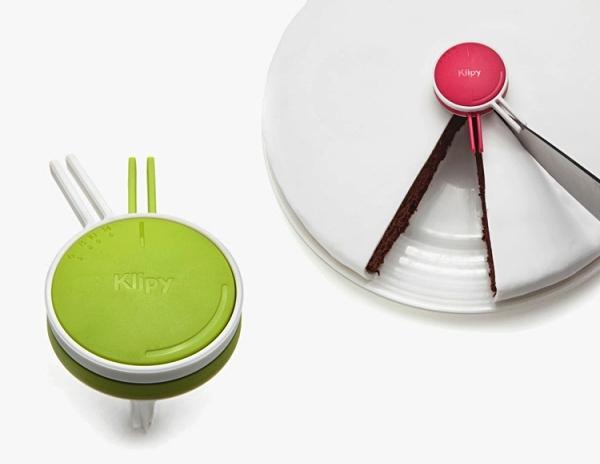прикольные кухонные приспособления Klipy Cake Divider 1 (600x464, 105Kb)