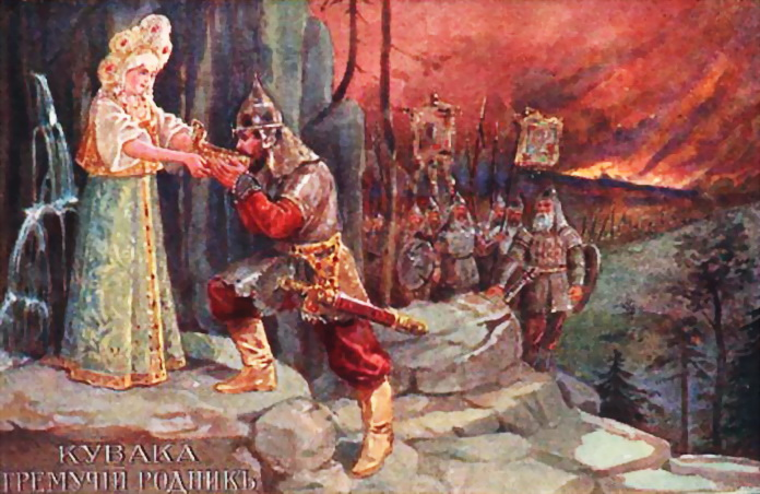 КУВАКА Русские богатыри 1 (696x452, 150Kb)