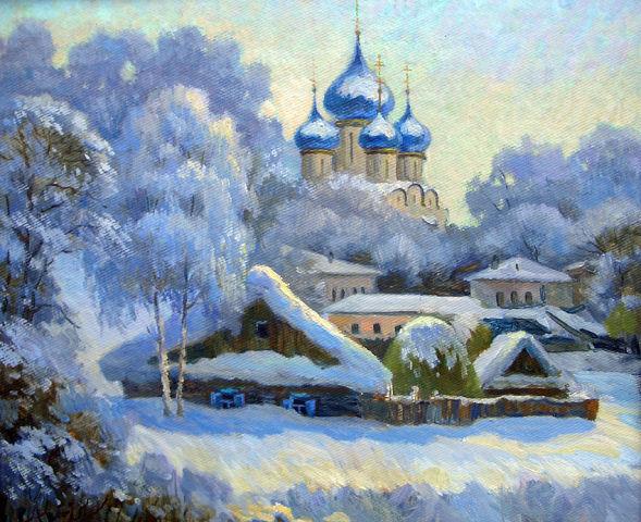 В живописи записи в рубрике зима в