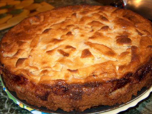 Яблочный пиріг фото рецепт