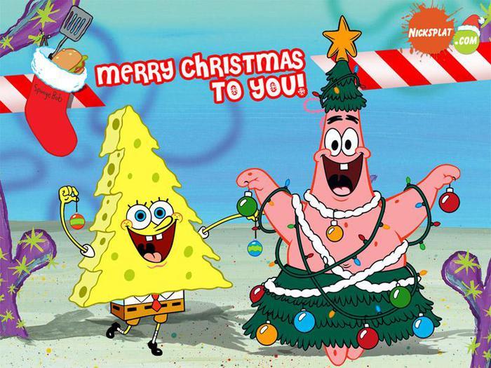 Рождественский Спанч Боб