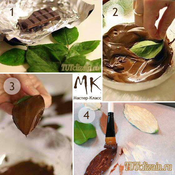 Как сделать форму из шоколада 305