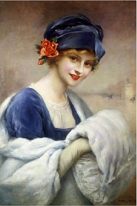 francois-kavel-young-girl-with-fur-muff (466x700, 213Kb)