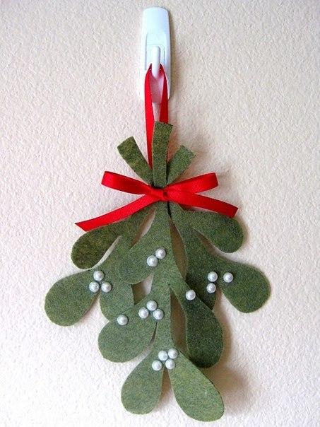 Felt christmas tree template