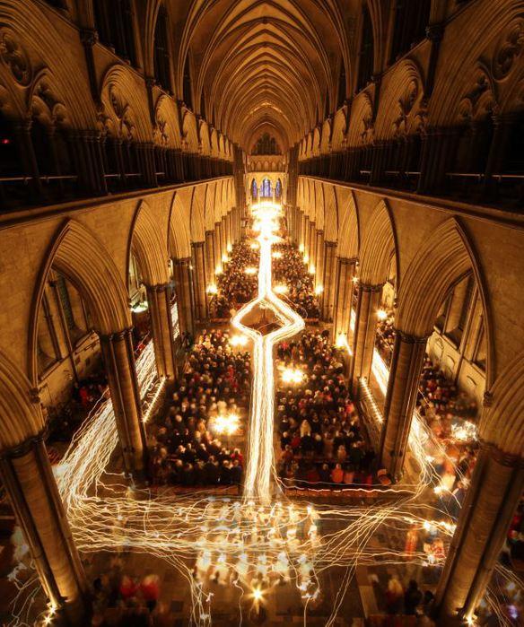 Salisbury Cathedral (584x700, 97Kb)