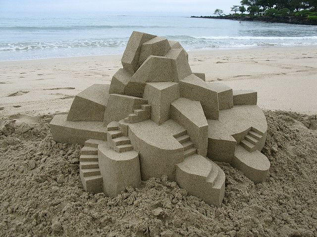 песчаные скульптуры Кельвин Зайберт (640x480, 90Kb)