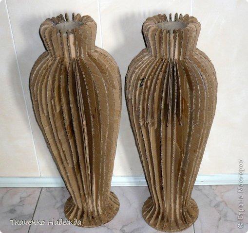 Как сделать напольная ваза своими руками