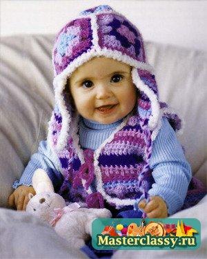Вяжем на ребенка 6 месяцев