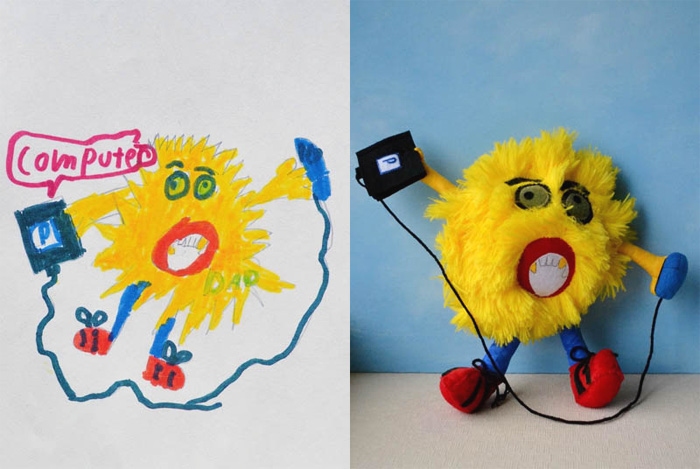 Toys Created By The Drawings of Children (6) .
