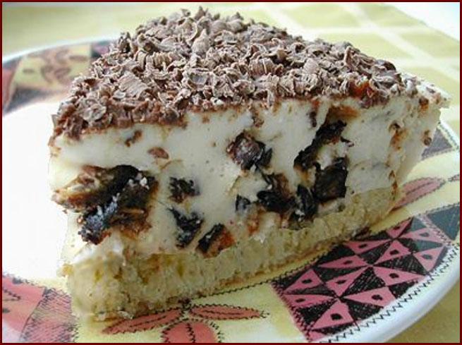 Торт с черносливом и сметаной рецепт