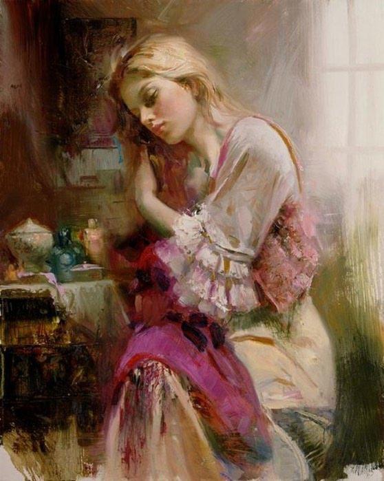 Pino Daeni 1939-2010 -  Italian Impressionist painter - Tutt'Art@ (61) (558x700, 82Kb)