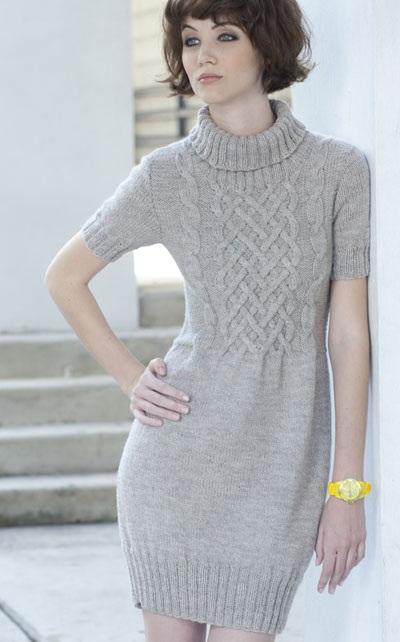 вязаное платья (400x642, 62Kb)